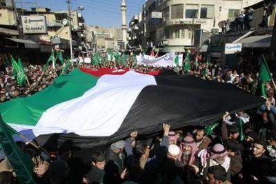 La Jordanie a suivi la marche des peuples
