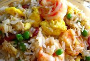 Riz frit (fried rice)
